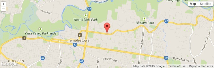 Templestowe Reserve Templestowe -fixed